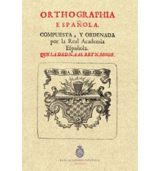 Ortographía española