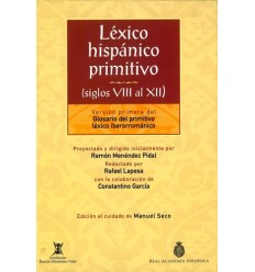 Léxico hispánico primitivo