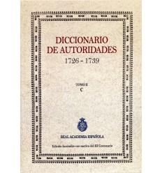 Diccionario de autoridades. Tomo II