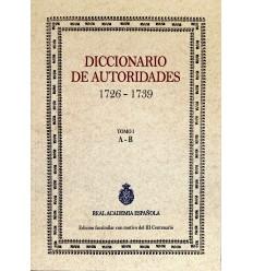 Diccionario de autoridades. Tomo I.