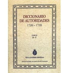 Diccionario de autoridades. Tomo III.
