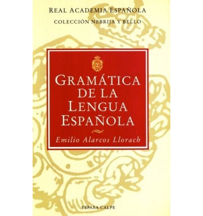 Gramática de la lengua española (ed. bolsillo)
