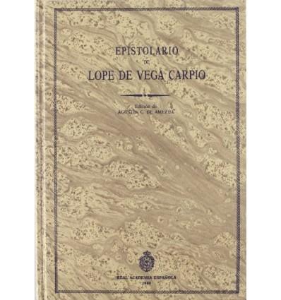 Epistolario de Lope de Vega. Tomo I.