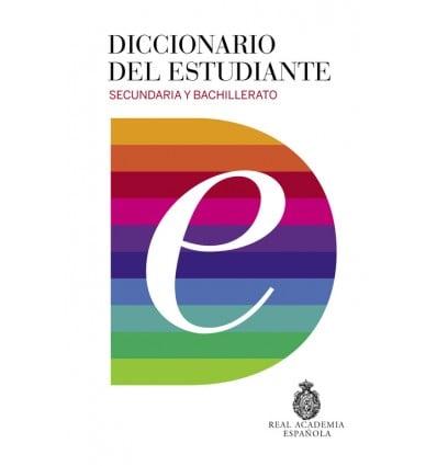 Estudiante Del De Bachillerato secundaria Y Diccionario Letras 5Rq77